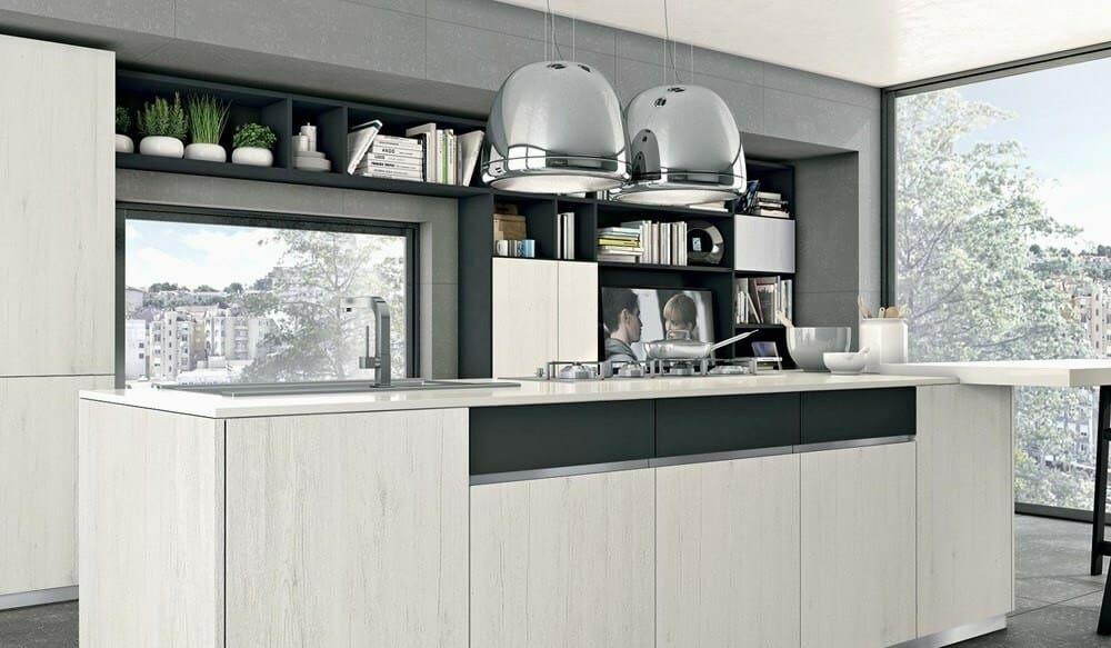 La cucina moderna